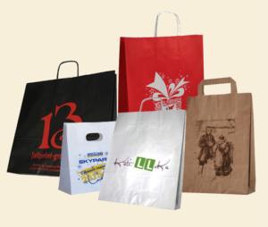 Нанесение изображения, логотипа на пакеты
