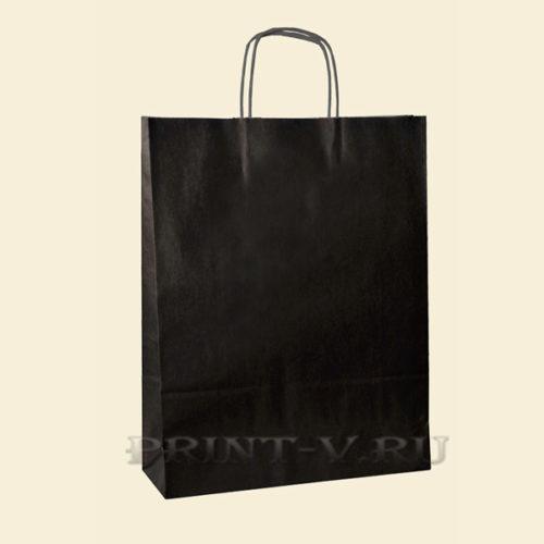 Черные крафт-пакеты